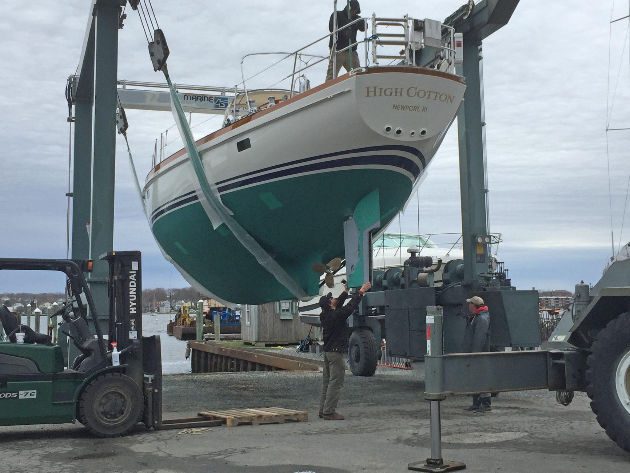 Rudder Repair - Bristol Marine
